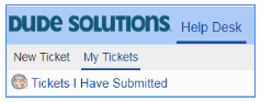 dude solutions my tickets link